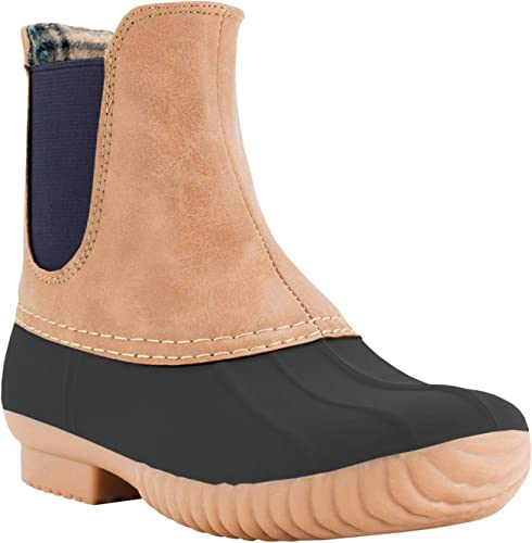 better quality products new cheap Amazon.com | AVANTI Rocky Womens Slip On Duckboot - Waterproof ...