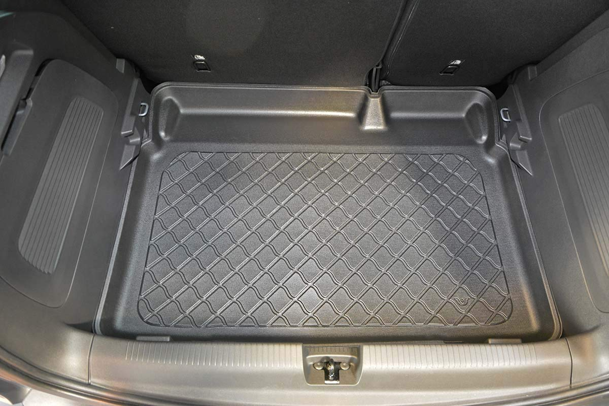 7482 MTM Boot Liner Crossland X 06.2017- Tailored Trunk Mat with Antislip cod