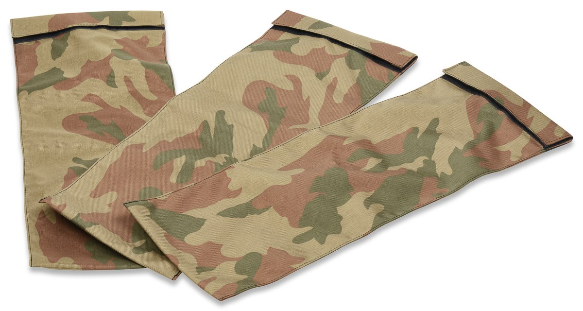 Garage Fit Workout Sandbags for Fitness, Exercise Sandbags, Military Sandbags, Weighted Heavy Sand Bags, Fitness Tactical Sandbags, Heavy Duty (Rubber Core Handle) (Camouflage Liners 3 x 20 lbs)