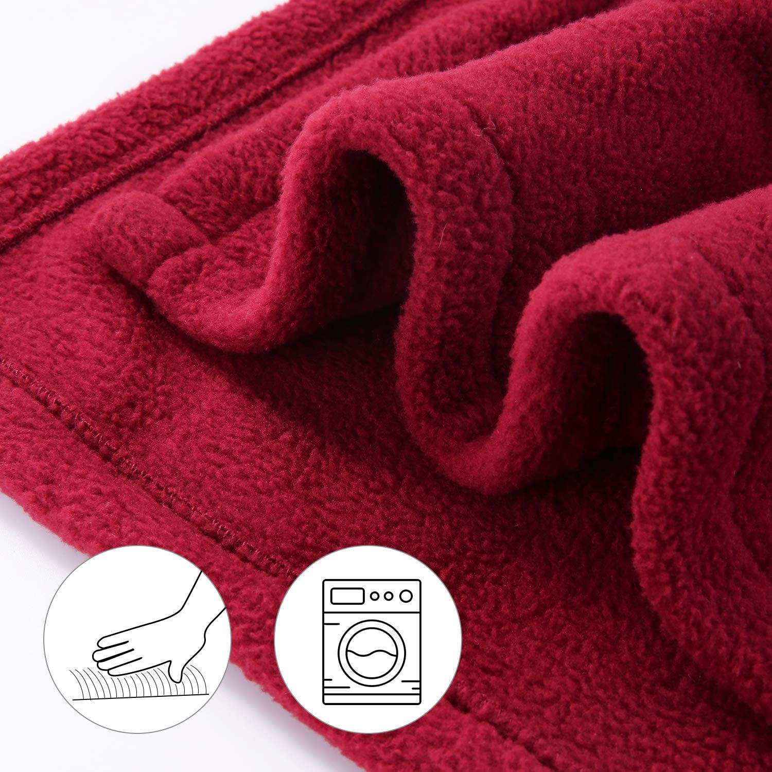 MaxKare Electric Blanket Heated Throw 77 x 84 Full Size Fleece Full Body Warming /& Extra Large Size Gray 4 Heating Levels and 10H Auto-Off with Heat Evenly /& Overheating Protection