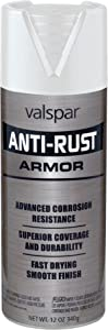 Valspar (21900) Gloss White Anti-Rust Armor Spray - 12 oz