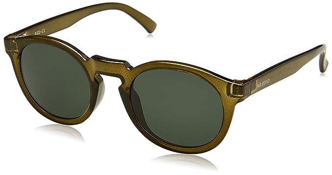 Mr Boho Jordaan, Gafas de Sol Unisex, Olive, 41