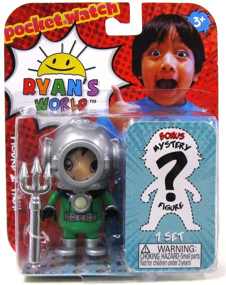 Dark Water Ryan /& One Mystery Ryans World Action Figure Set 3