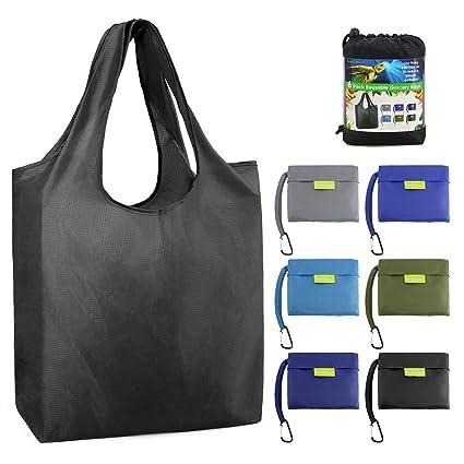 a8285102e Reusable-Grocery-Bags-Foldable-Shopping-Bag Large 50LBS Reusable Tote Bags