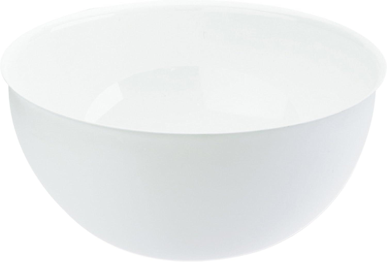 Plastique 30 x 30 x 14,6 cm Blanc Opaque Koziol 3807525 Saladier 5 L