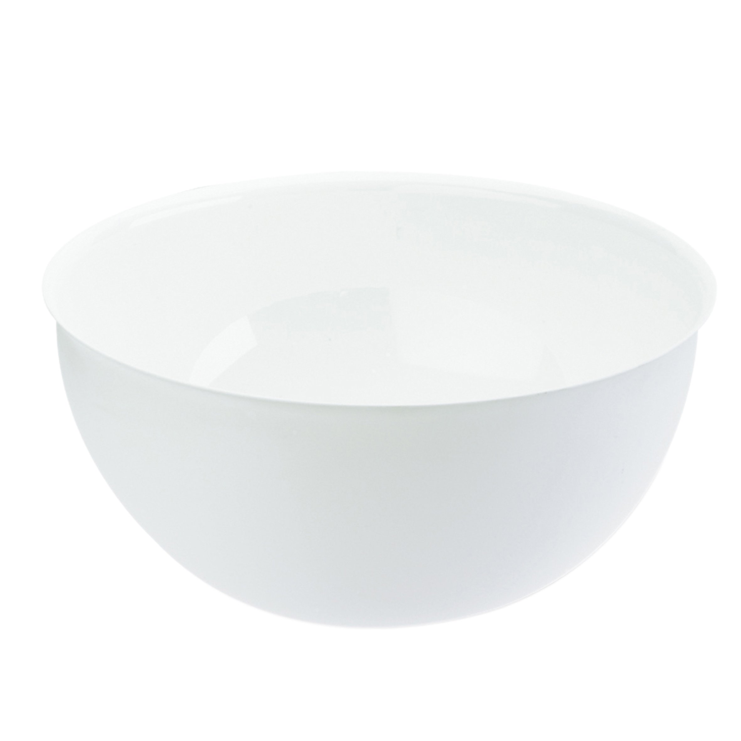 koziol (3807525) PALSBY L large Bowl 280 mm/11 in / 5 l/170 fl.oz, solid white