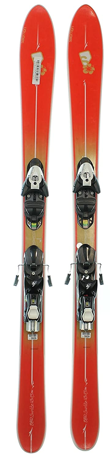 quality products the best attitude more photos Used 2013 Salomon BBR Sunlite Women's Ski with Z10 Binding ...