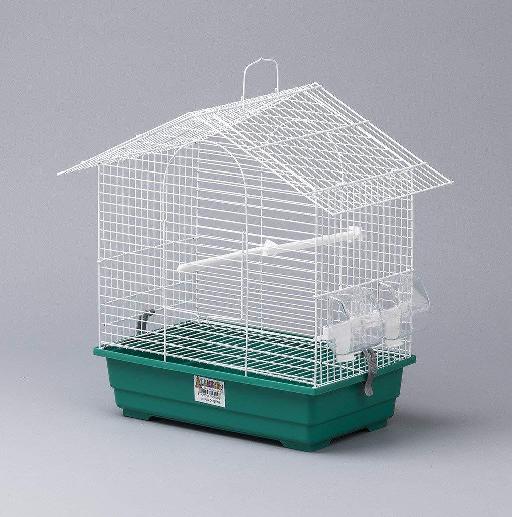 HappyzooMascotas Jaula Soho Desmontable Pájaros - Alamber - 45X26 ...