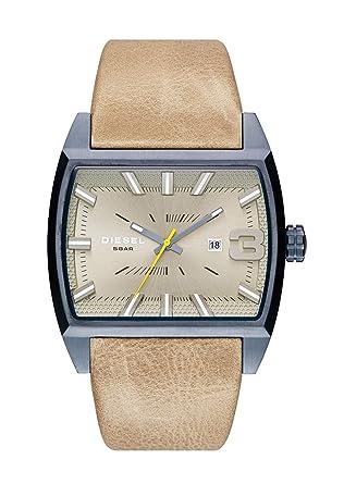 f8d9d33d4 Diesel Men's Quartz Watch with Black Dial Analogue Display Quartz ...