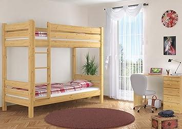 Etagenbett Teilbar Holz : Erst holz etagenbett massivholz kiefer natur stockbett