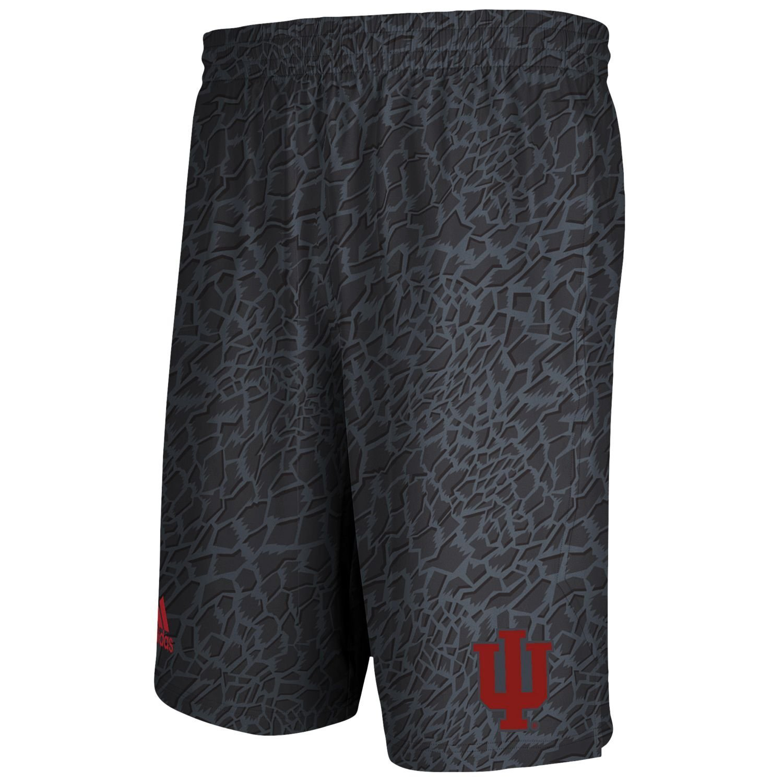 Indiana Hoosiers NCAA Adidas Youth Gray Crazy Lights Shorts