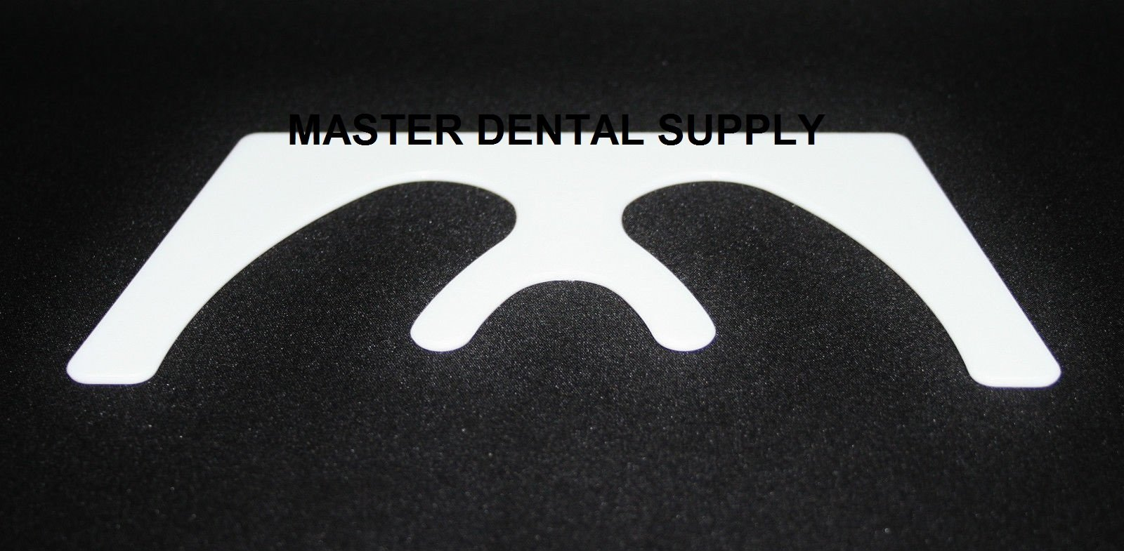 Dental Occlusal FOX Plane WHITE Color Occlusal Maxillary Casting Plastic Material AUTOCLAVABLE