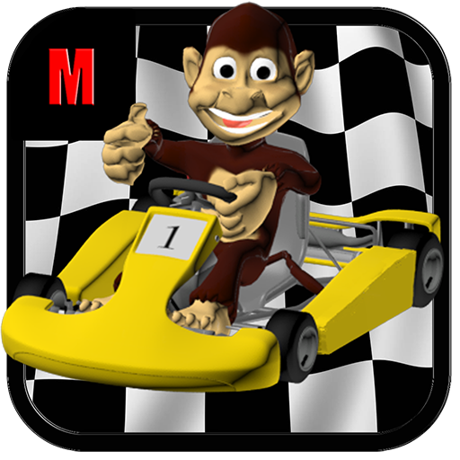Monkey Madness Kart Racing ()
