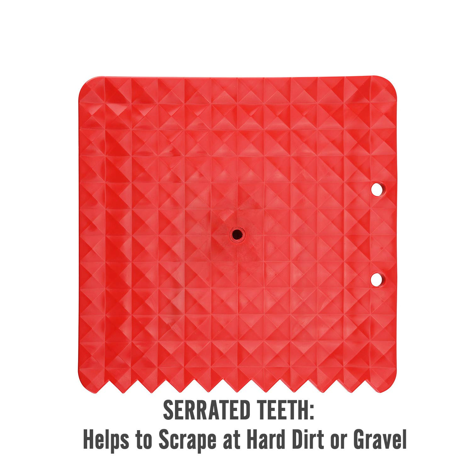 Seven Sparta Off-Road Base for Hi Lift Jack PP Pad to Alleviate Jack Hoisting Sinkage (Red) by Seven Sparta (Image #3)