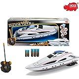 RC Motorboot Sea Lord, 2-Kanal Funkfernsteuerung, 27MHz Frequenz, 34cm: Spielzeug Sea Lord Ferngesteuertes Boot Modellboot