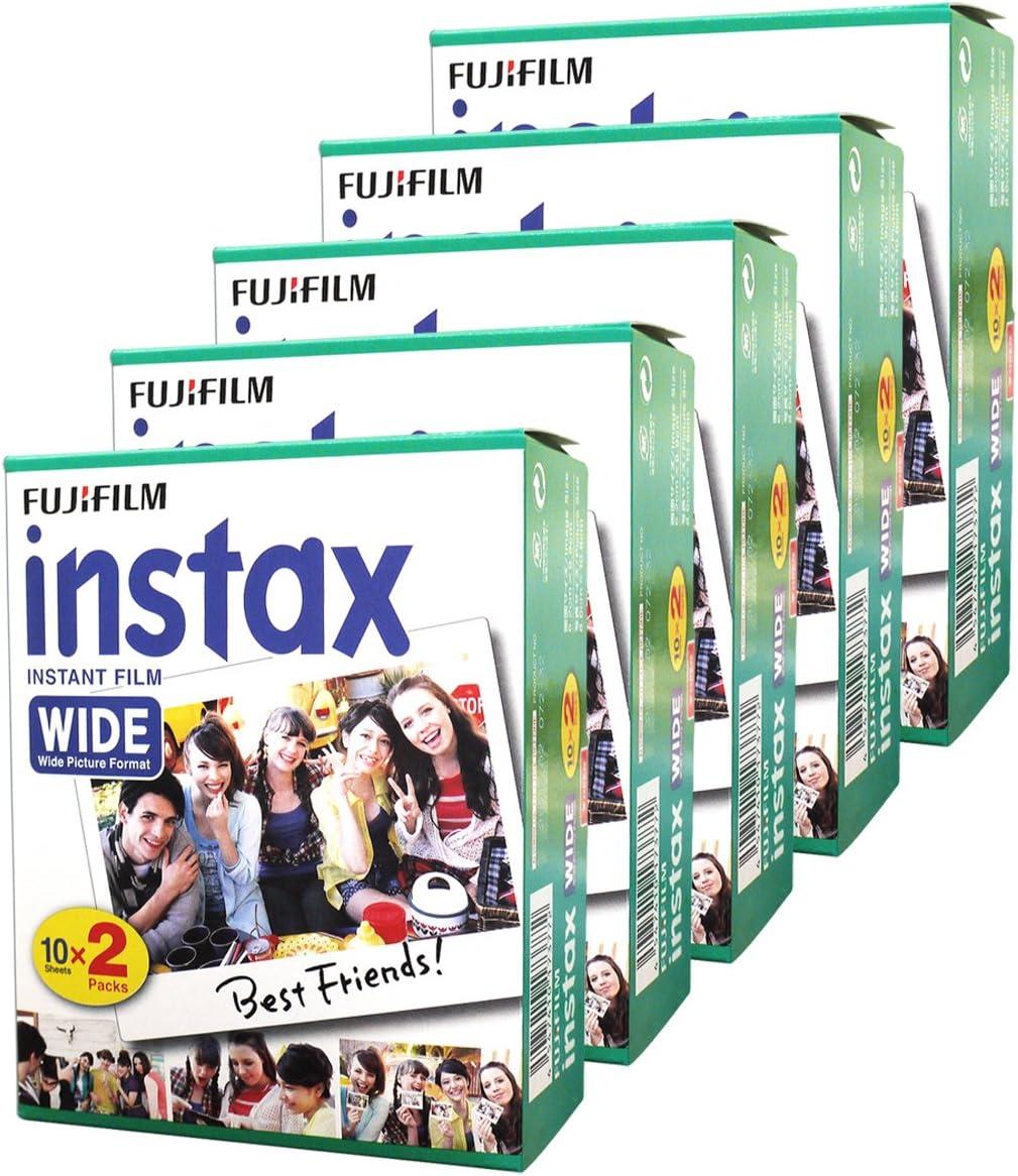 Papel film para Fujifilm Instax Wide 210 200 100 300