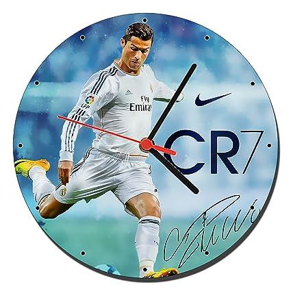 Cristiano Ronaldo Real Madrid CR7 Reloj de Pared Wall Clock 20cm