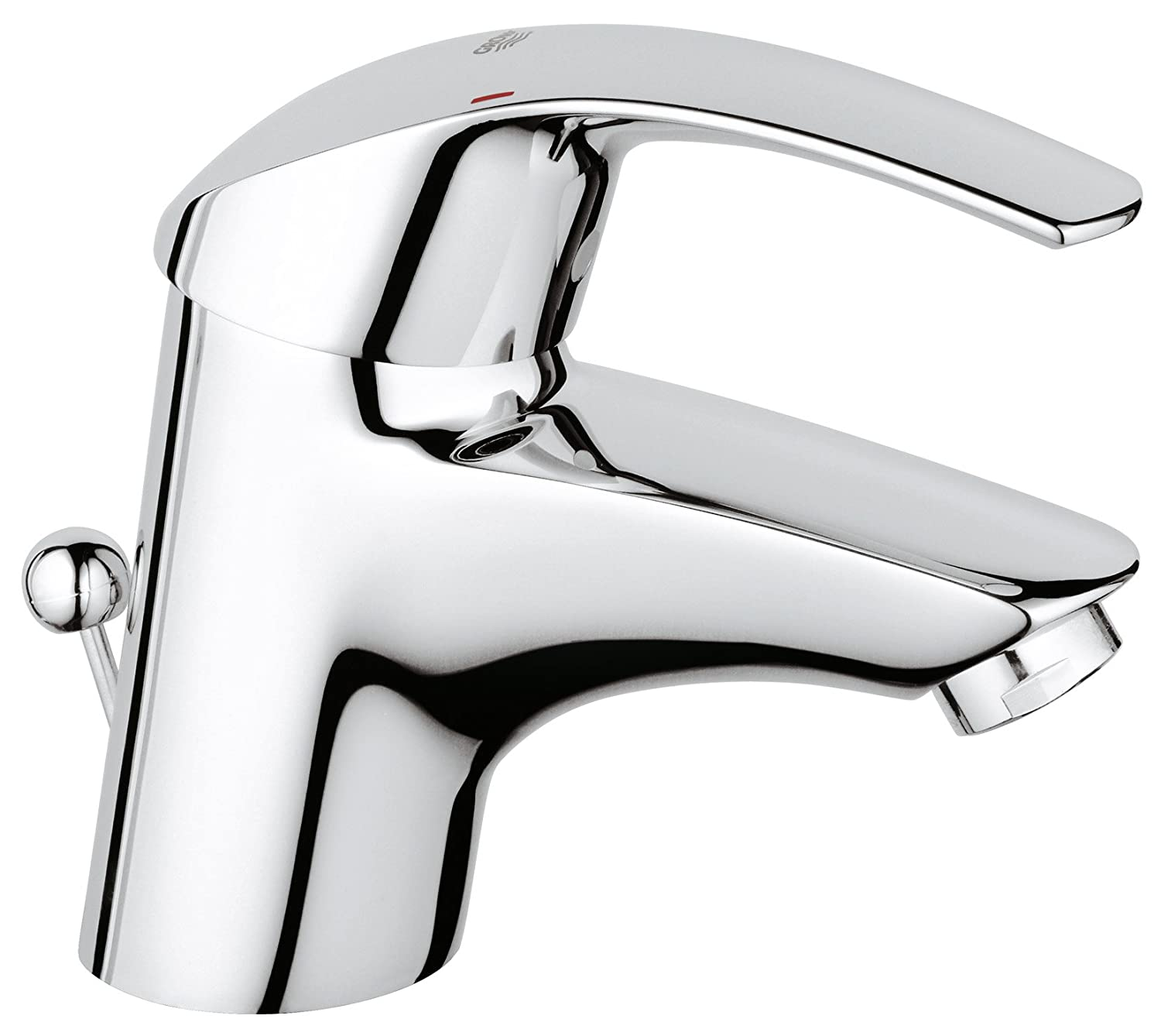 Grohe Eurosmart Chrome Single Lever Basin Mixer Amazon
