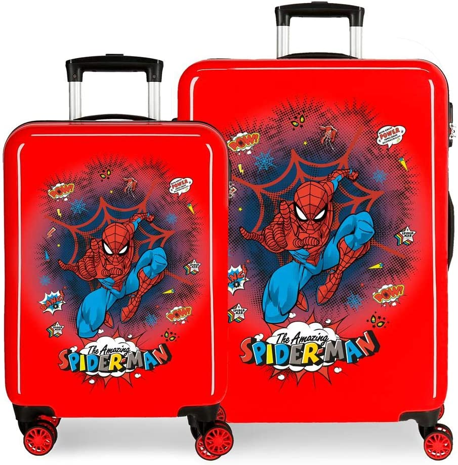 Juego de Maletas Spiderman Pop rígidas 55-68cm