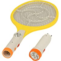 Mobone Mosquito Killer bat Mosquito Killing Fly Swatter/Racket with LED Light and Torch Electric Insect Killer (Bat)