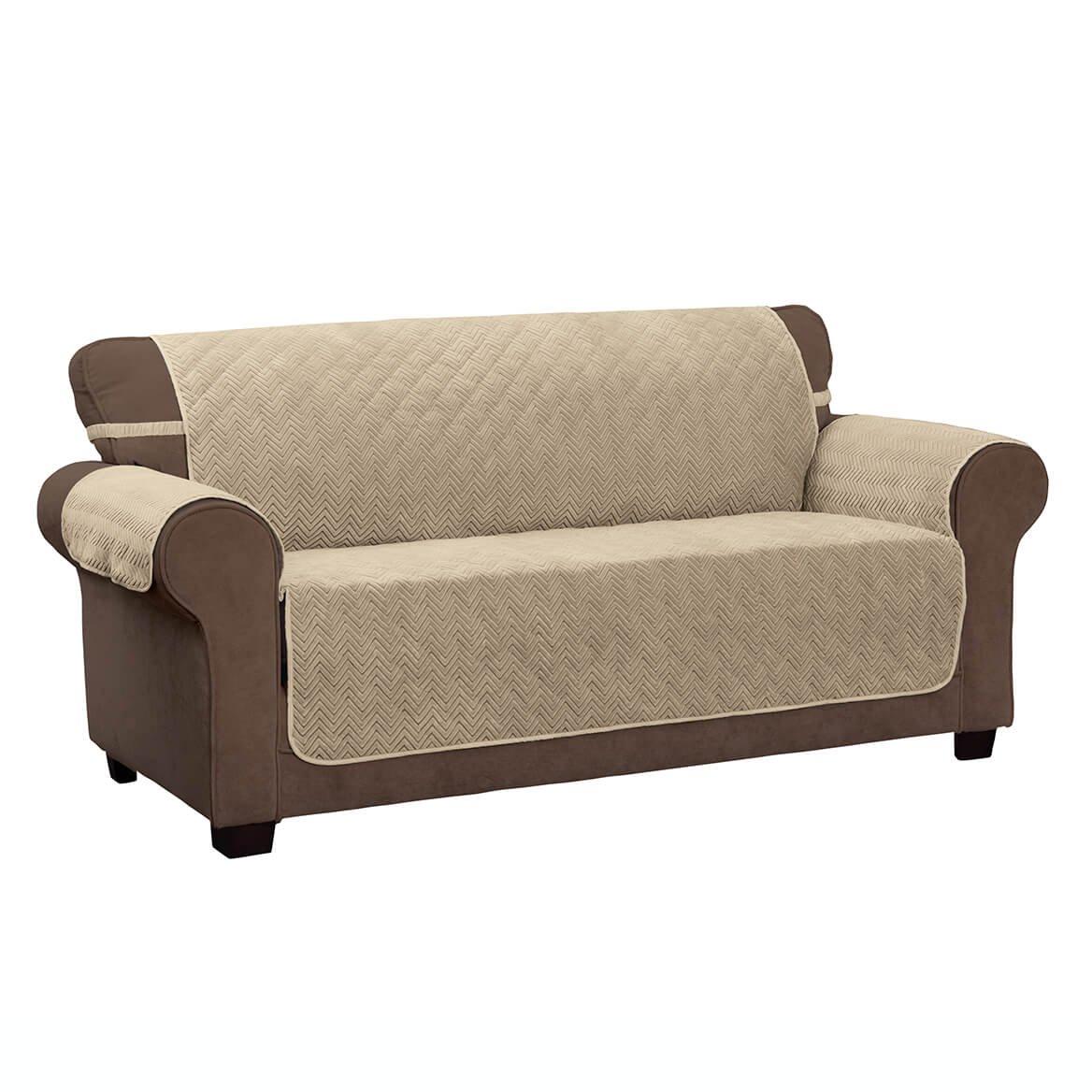 Amazon.com: Miles Kimball Chevron XL Sofa Protector: Home ...