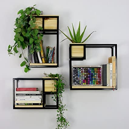 Amazon Com Qianda Wall Shelves Storage Display Floating Shelf