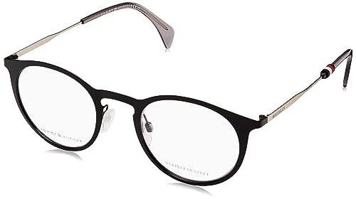 Tommy Hilfiger TH1514 Monturas de Gafas para Hombre, Black, 48 mm ...
