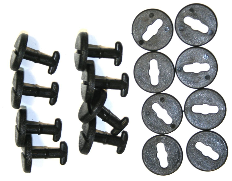 100x Tuercas hexagonales M5 8mm H4mm DIN934 Acero Inoxidable A2 C19160 AERZETIX