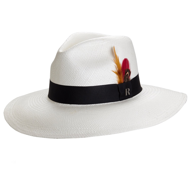 d0bfb295772 RACEU ATELIER Eva Wide Brim Panama White - Panama Hats  Amazon.co.uk   Clothing