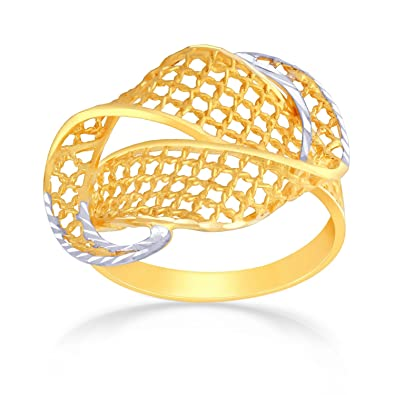 Buy Malabar Gold and Diamonds 22k 2 Colour Gold Ring line at Low