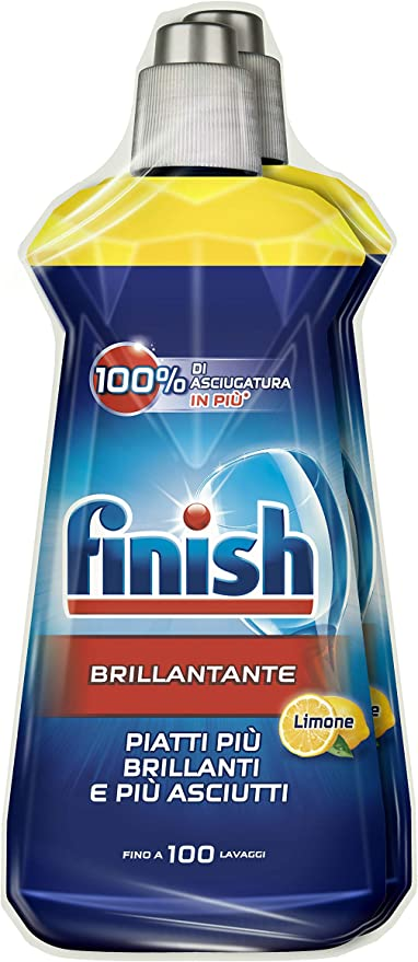 Finish Brillantante Lavastoviglie 3 Pezzi