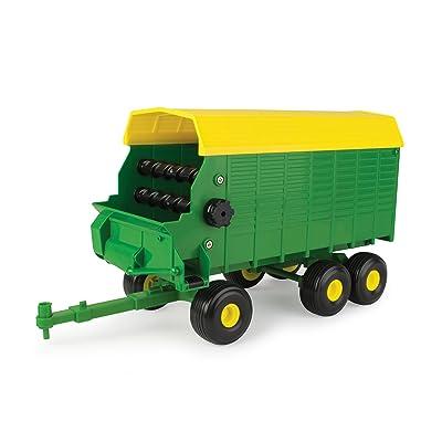 TOMY John Deere Big Farm Forage Wagon Vehicle: Toys & Games