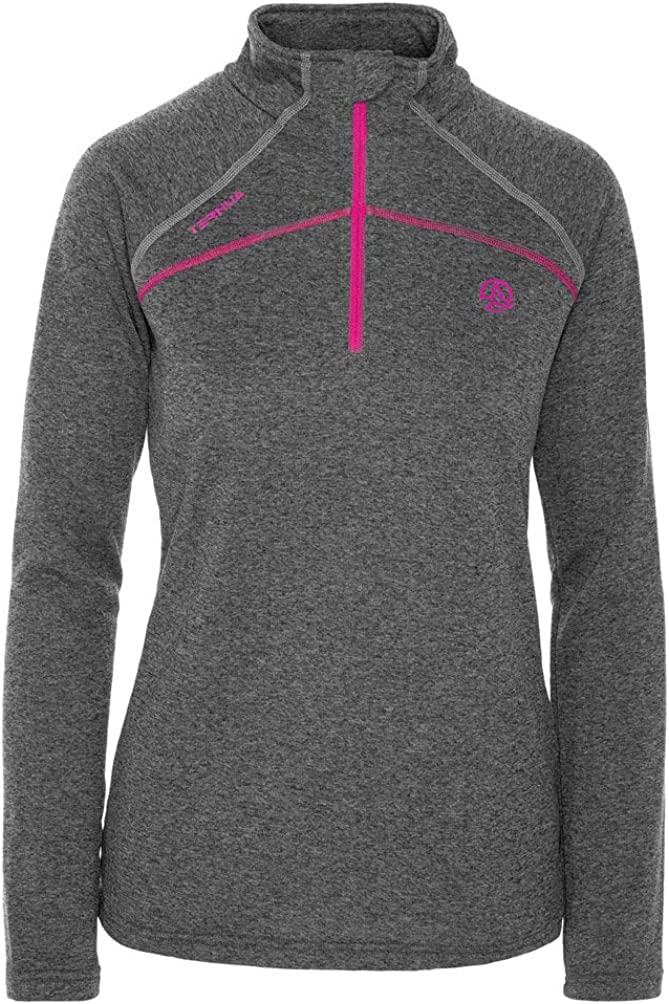 Ternua Lucilla 1//2 Zip W Camiseta Mujer