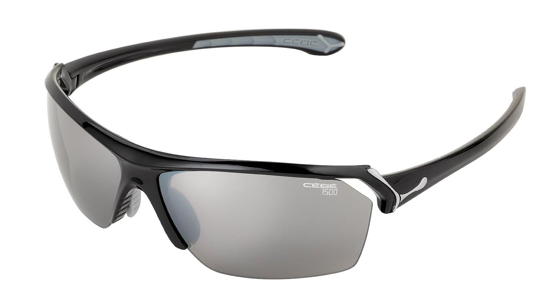 Cébé CBWILD5 Gafas, Unisex, Negro (Shiny Black Grey), M