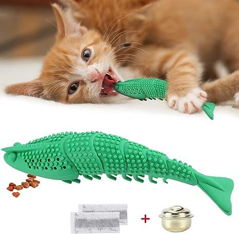 Amazon Com Geepet Cat Toothbrush Catnip Toy Dental Care
