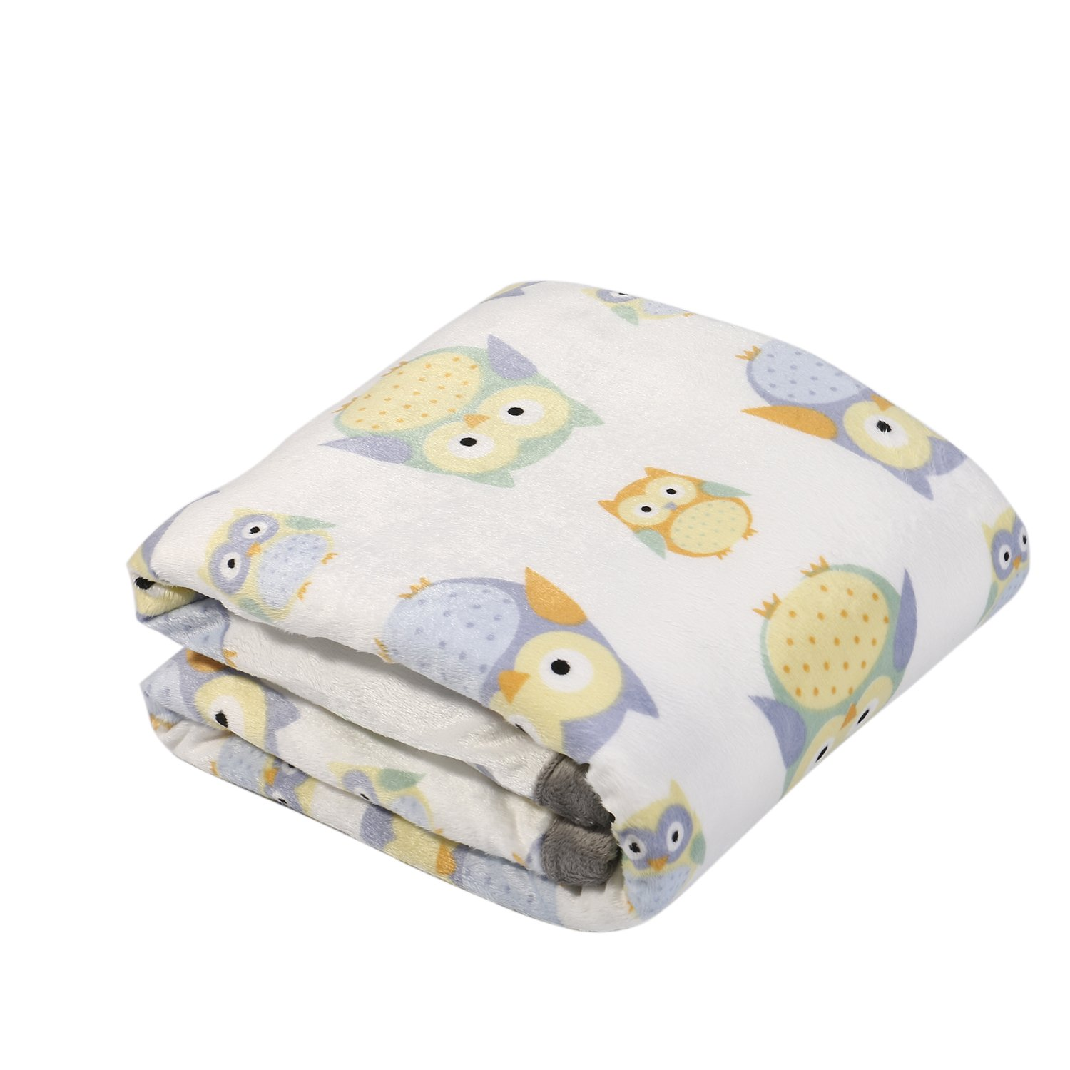Sunshine Breathable Baby Blanket Print Fleece Best Registry Gift for Newborn Soft- Perfect for Prince and Princess 30 x 40