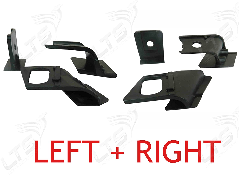Sinistra e destra faro staffa Tab kit di riparazione per E90/E36/E39