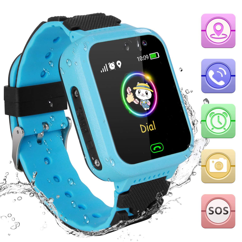 Amazon.com: Reloj inteligente para niños con GPS, para 4 ...