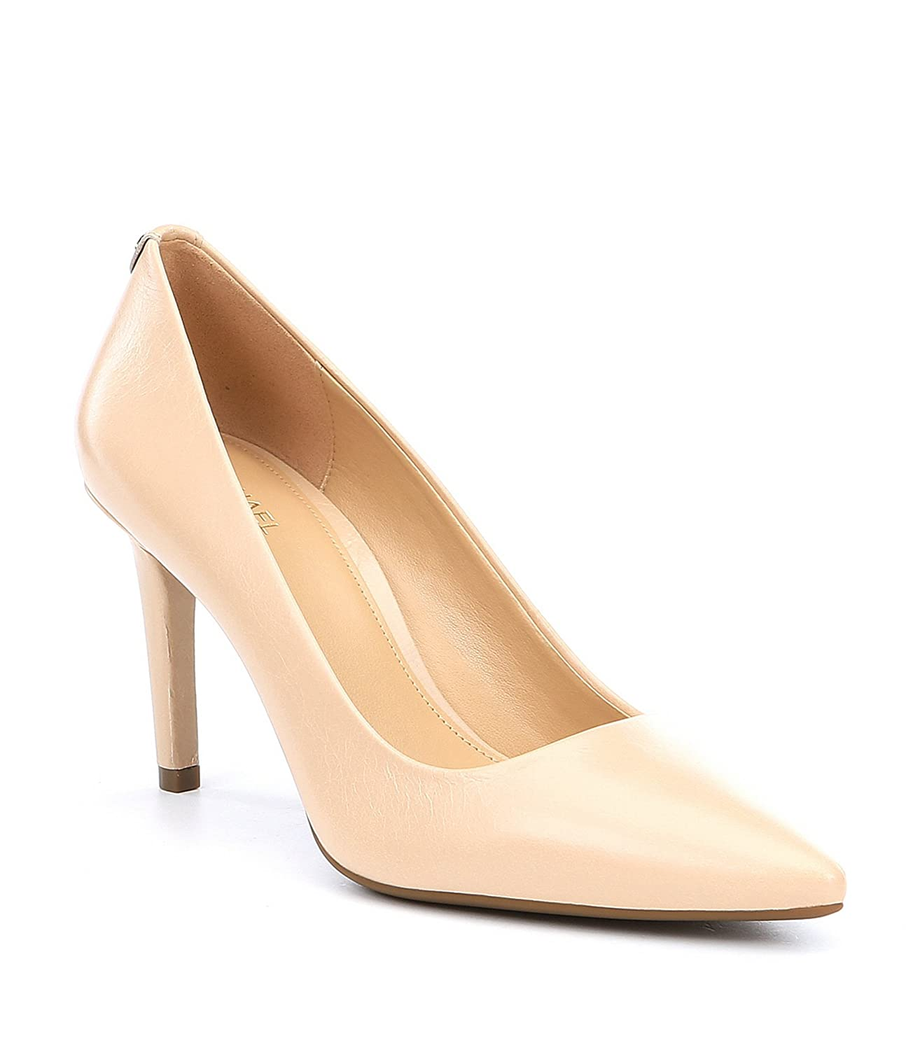 f2cbecacd Amazon.com | Michael Kors Womens Dorothy Flex Pumps Leather Pointed Toe,  Oyster, Size 8.5 | Shoes