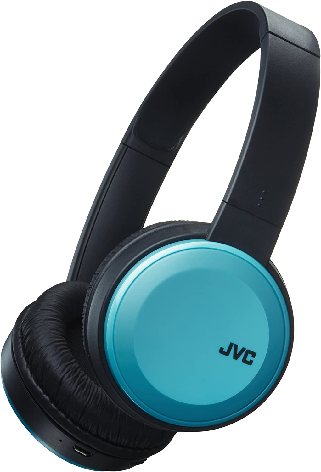 JVC HA-S30BT-A, Auriculares On-Ear, Inalámbrico, Negro y Azul