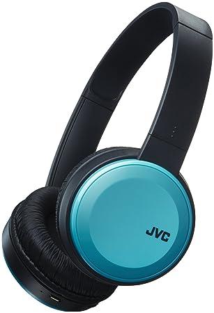 JVC HAS30BTAE Deep Bass Bluetooth On Ear Headphones - Blue