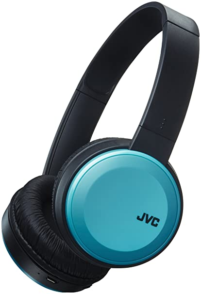 JVC HAS30BTAE Deep Bass Bluetooth On Ear Headphones - Blue