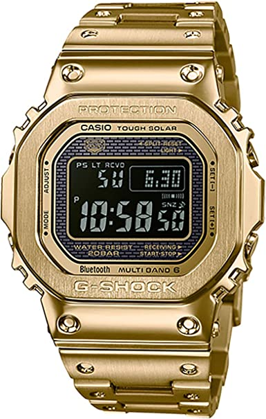 G Shock GMW B5000GD 9CR Gold One Size