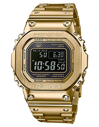ebb3de539a7 Amazon.com  G-Shock Men s GMW-B5000GD-9CR Gold One Size  Watches
