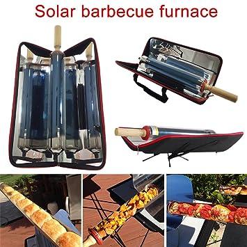 ZREAL Parrilla Solar portátil al Aire Libre Que dobla la Clase de la Comida de la Barbacoa del Metal Que Cocina la energía Inoxidable con eficacia: ...