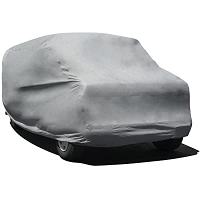 "Budge Duro 3 Layer Van Cover, Water Resistant, Scratchproof, Dustproof Cover, Fits Vans up to 19'6"", Gray: Automotive"
