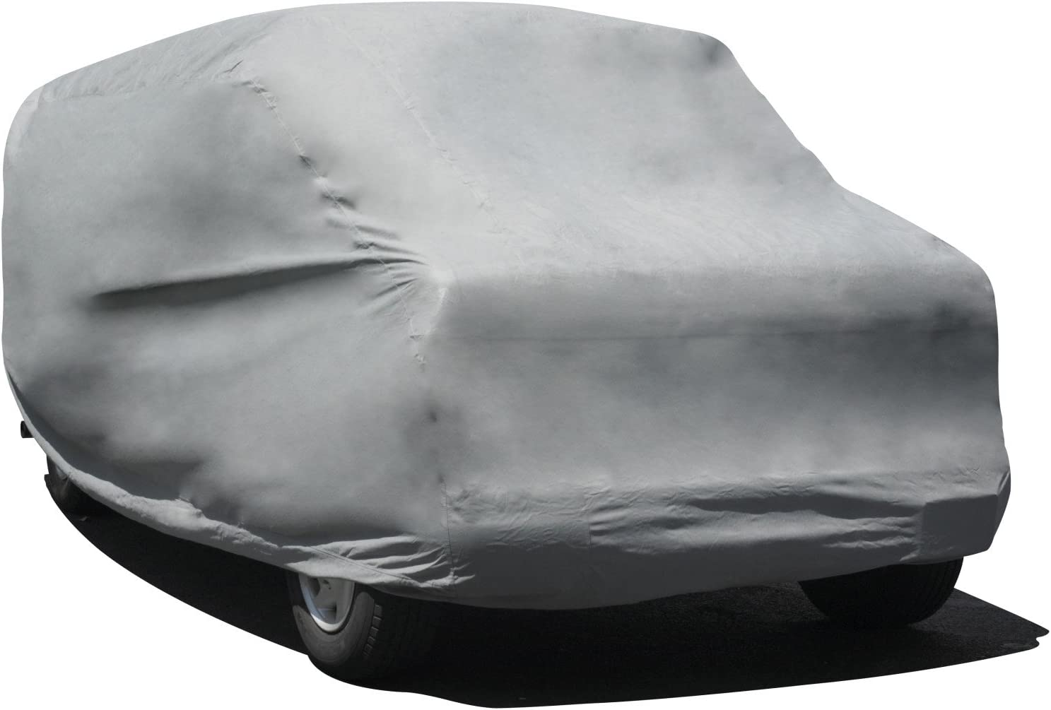 "Budge Rain Barrier Van Cover, Outdoor, Waterproof, Breathable, Van Cover fits Mini Vans up to 216"" L x 60"" W x 60"" H, Gray"