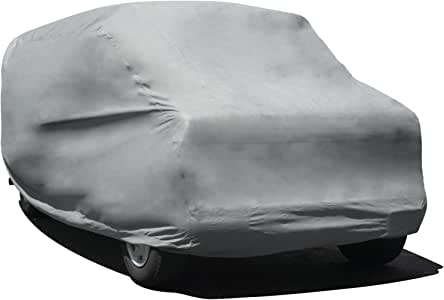 Budge Max Van Cover Fits Full Size Vans up to 19 feet 7 inches, VMX-3 - (Endura Plus, Gray)