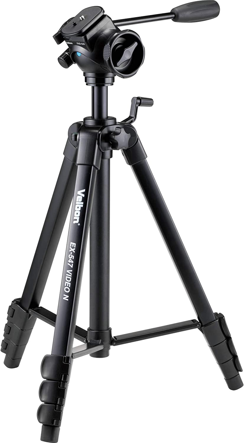 Black Velbon M47 Tripod with Fluid Video Head