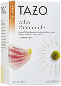 Tazo Calm Chamomile Herbal Tea, 20 ct by Tazo Tea